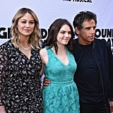 Ben Stiller and Family on the Red Carpet April 2017
