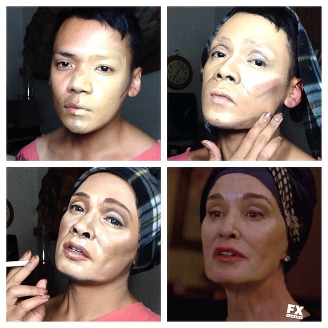 Jan Bonito's American Horror Story Makeup Transformations
