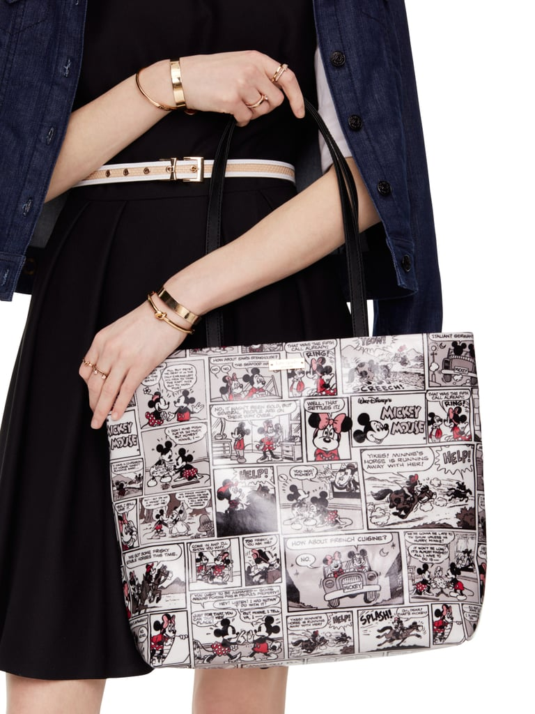 Kate Spade New York For Minnie Minnie Comic Tote (approx. $260)