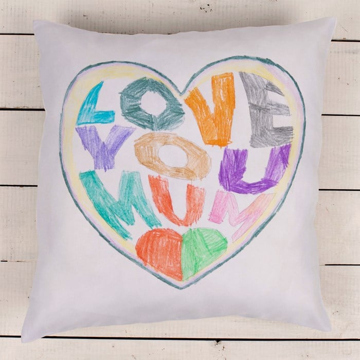 Artwork Upload Cushion