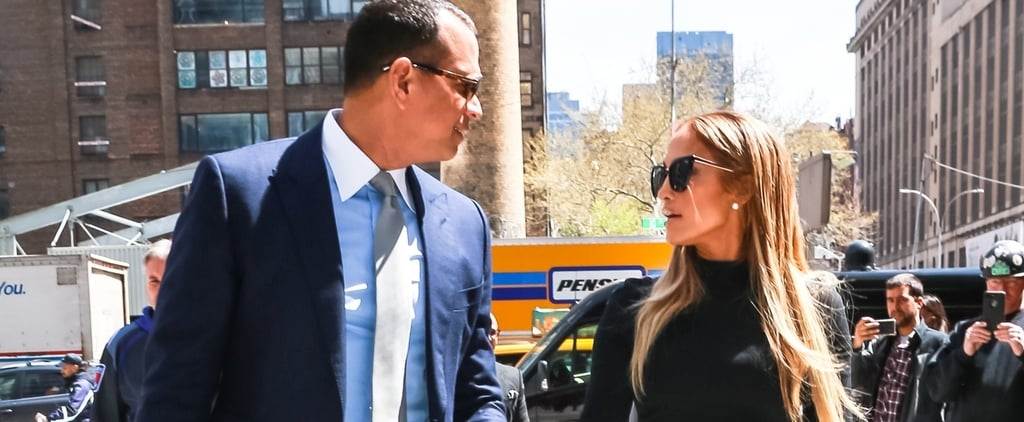 Jennifer Lopez and Alex Rodriguez's Matching Crocodile Bags