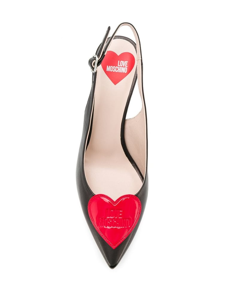 Love Moschino Heart Pumps