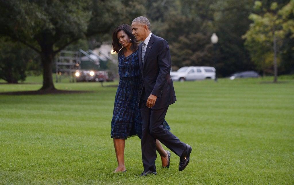 Michelle Obama Wearing Flats