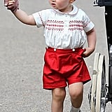 How cute! We love matching sets, too, Prince George!