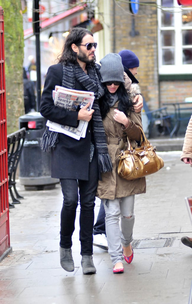Photos of Katy Perry and Russell Brand Out Together in London