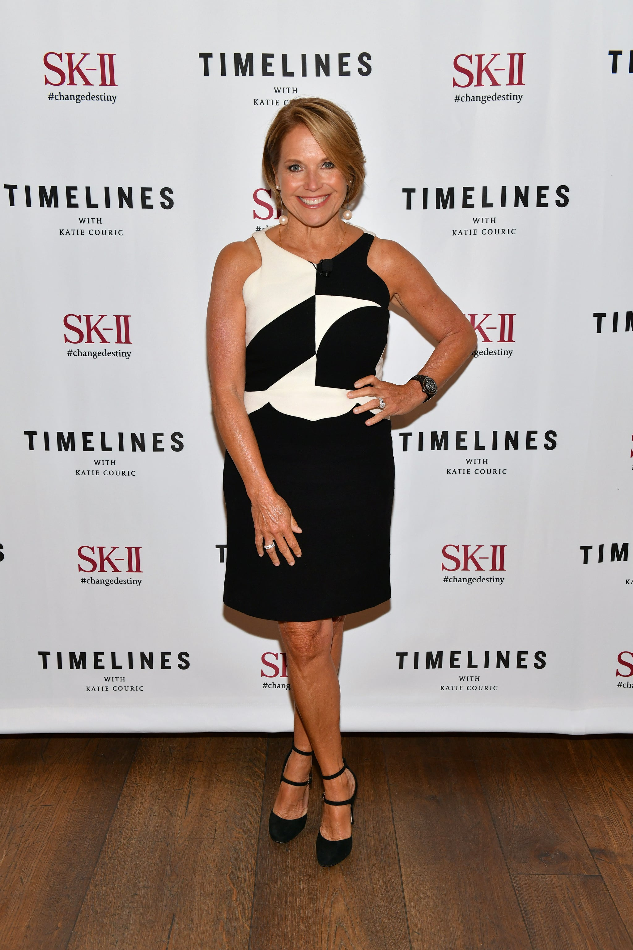 NEW YORK, NEW YORK - JULY 10: Katie Couric attends the premiere of SK-II #ChangeDestiny and Katie Courics New Global Docu-Series -
