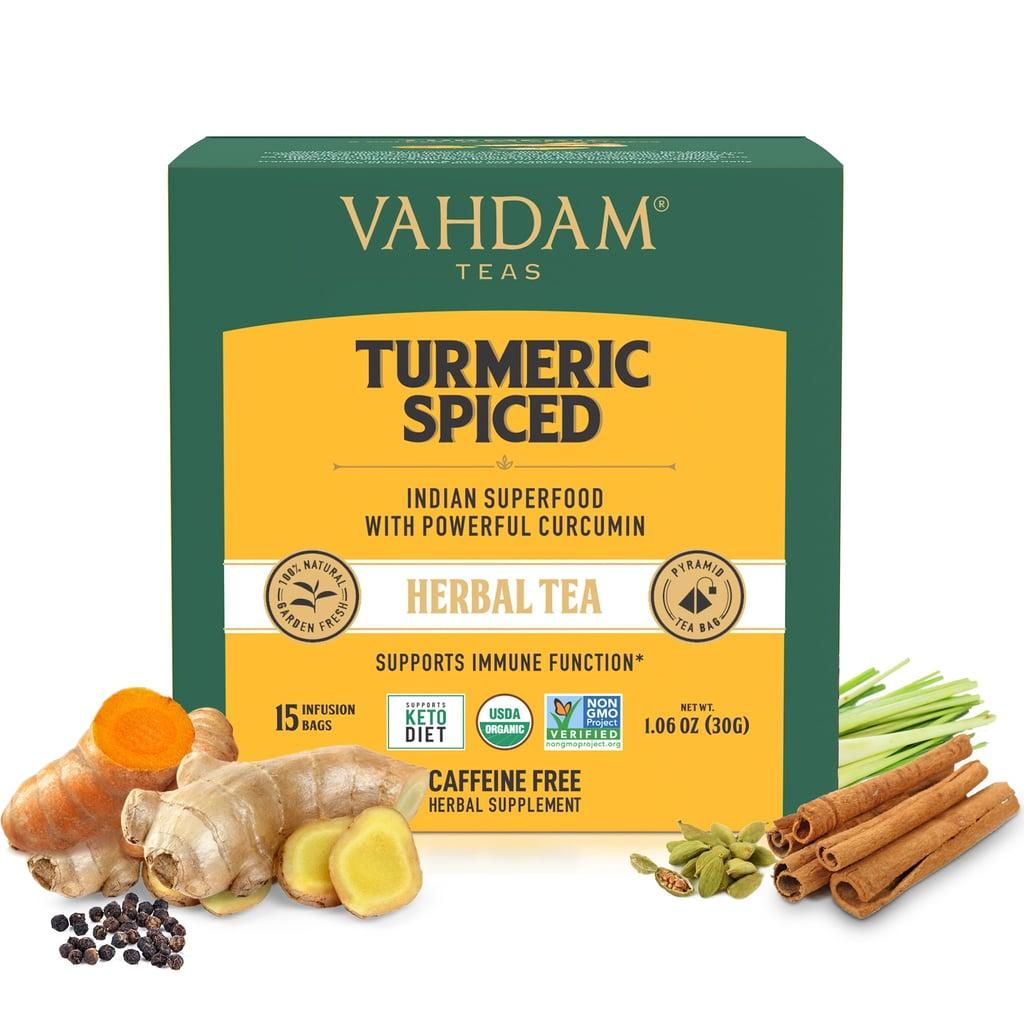 Vahdam Teas Turmeric Spiced Herbal Tea