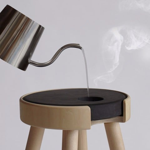 Heated Stool