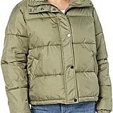 The Drop Dani Recycled Poly Puffer Jacket