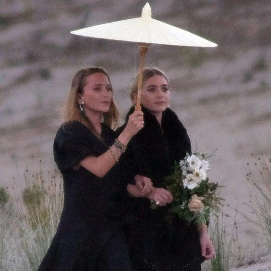 Ashley and Mary-Kate Olsen at New Zealand Wedding 2017