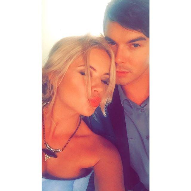 Ashley Benson and Tyler Blackburn Instagram Pictures