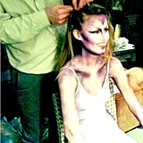 Georgia in Her Makeup Chair