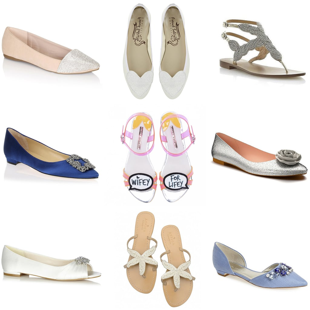 Ultimate Guide To Flat Wedding Shoes