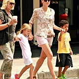 Heidi Klum and her mom were out in NYC.