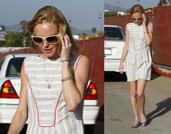 Kate Bosworth at Il Piccolino in LA