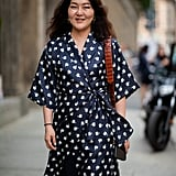 Wrap Dresses For Layering Over Pants