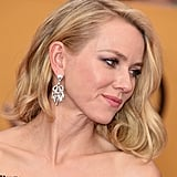 As Naomi Watts turned to the side, revealing her shimmering Bulgari diamond earrings, our jaws dropped.