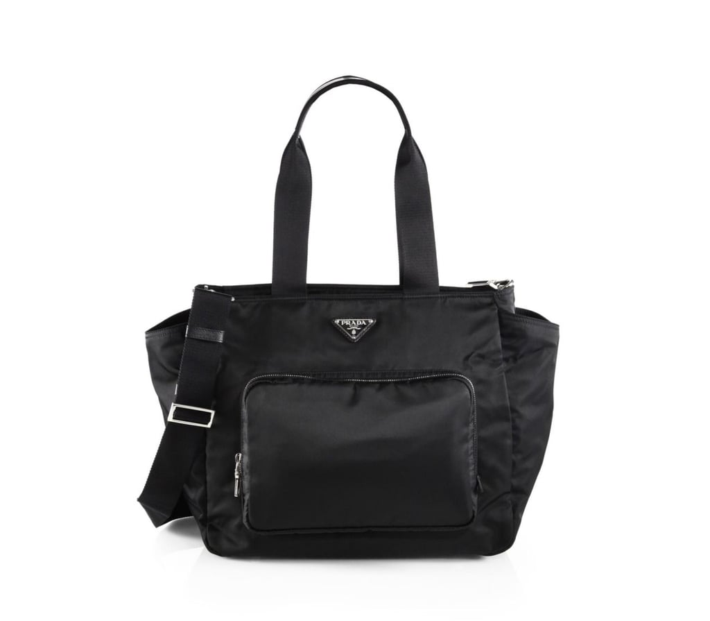 0d118210a3 Chrissy Teigen s Prada Diaper Bag
