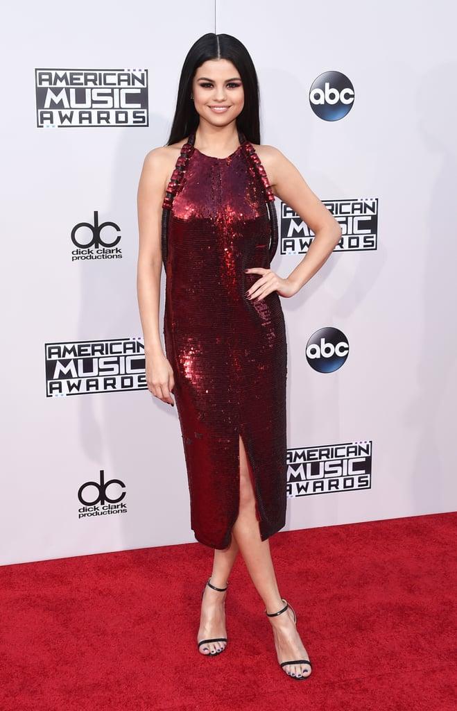 Selena Gomez's Dress at the American Music Awards