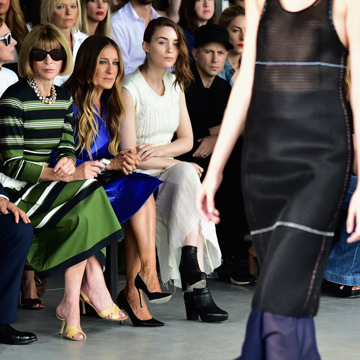 Celebrities Front Row at New York Fashion Week Spring 2015