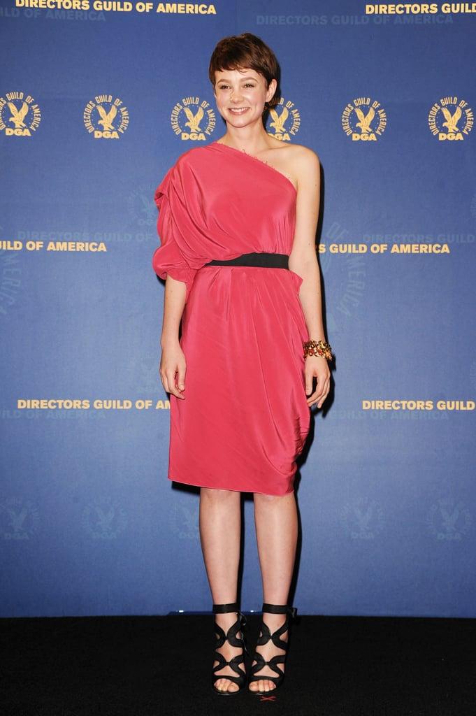 Carey Mulligan in Lanvin at the 2010 Directors Guild of America Awards