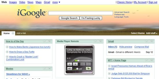Geek Tip: Add Desktop Gadgets To Your iGoogle Page