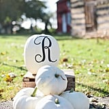Pumpkin Patch With Monogram