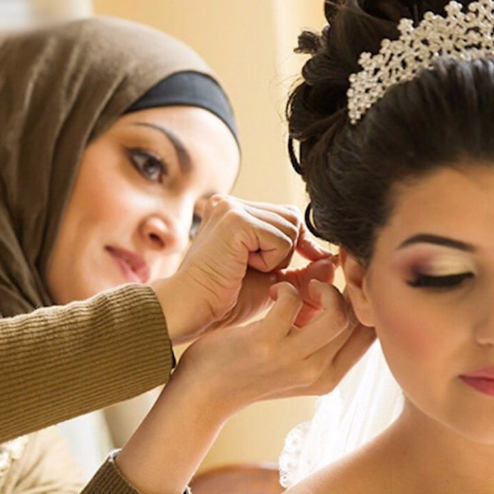 Beauty Salon For Muslim Women (Video)