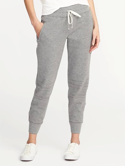 ca720df131 Old Navy Mid-Rise Moto Performance Joggers | Cheap Workout Pants ...