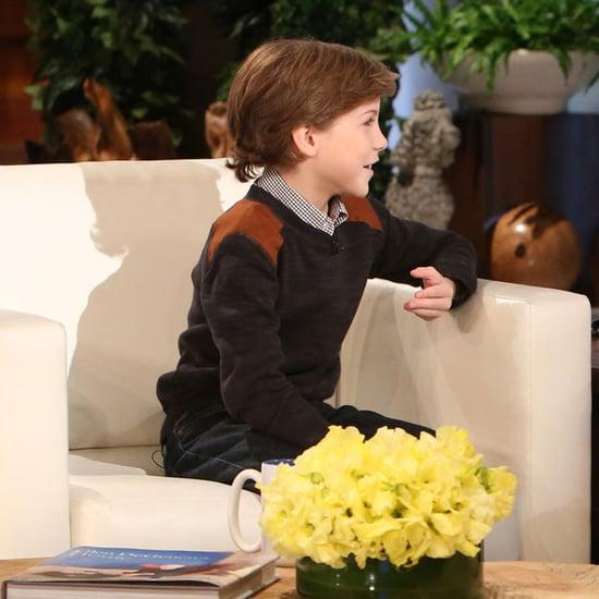 Jacob Tremblay on The Ellen DeGeneres Show February 2016