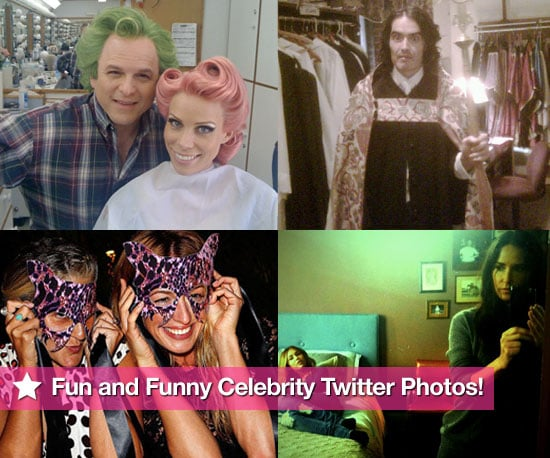 Jason Alexander, Cheryl Hines, Russell Brand, Cat Deeley, Demi Moore, Miley Cyrus in This Week's Fun and Funny Twitter Photos!