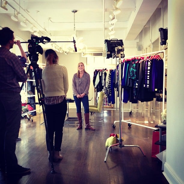 We're in the process of filming our next installment of One of a Kind . . . stay tuned to see who won!