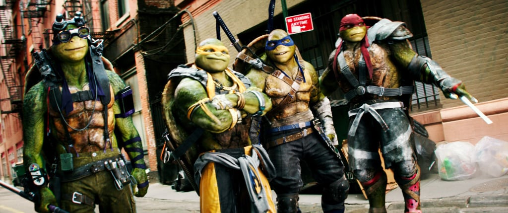 Donatello, Raphael, Leonardo, and Michelangelo From Teenage Mutant Ninja Turtles: Out of the Shadows
