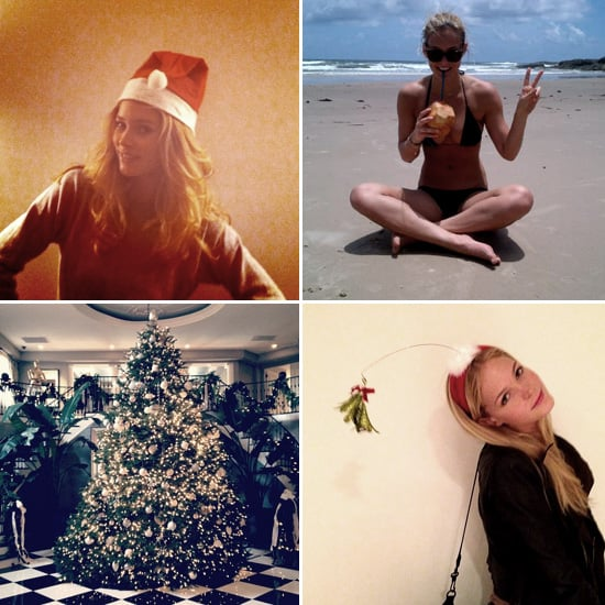 Pictures of Celebrities and Models on Twitter Dec. 27, 2011