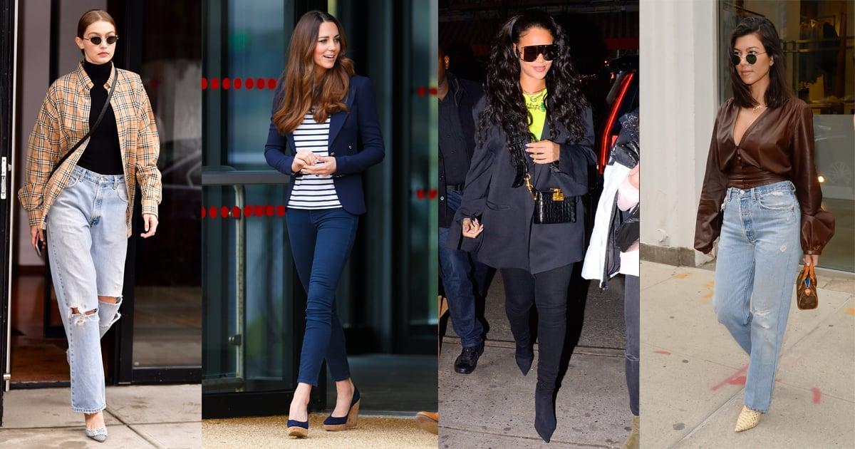108 Ways Celebrities Wear Jeans - Plus, Under-$40 Styles to Shop Now