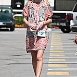 Kate Bosworth wore a summery dress in LA.