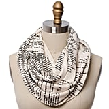 The Great Gatsby Book Scarf ($48)      Related:                                                                                                           18 Things For the Friend Who Is Constantly Correcting Your Grammar