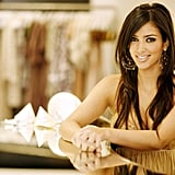Kim Kardashian posed for a portrait session at her Dash store in LA in June 2006.