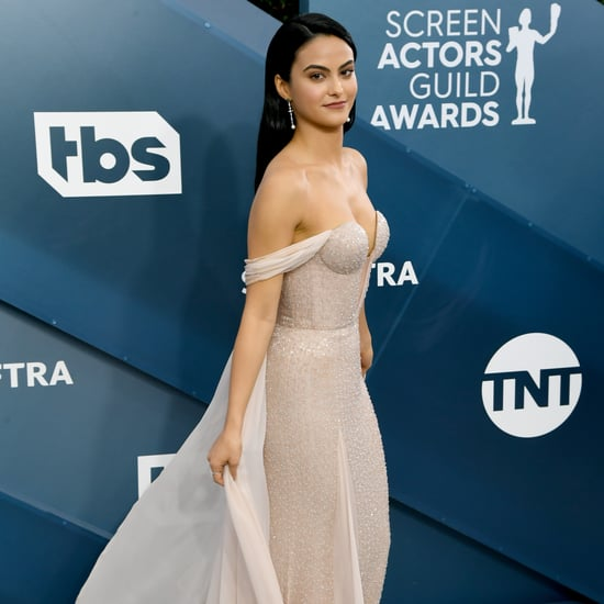 Camila Mendes' Caped Ralph & Russo Dress at the SAG Awards