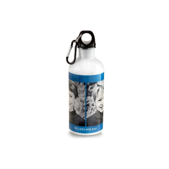 Custom Photo Water Bottle