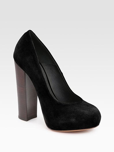 Petisca Calf-Hair Pumps ($450)