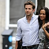 Love Is in Full Bloom For Bradley Cooper and Zoe Saldana