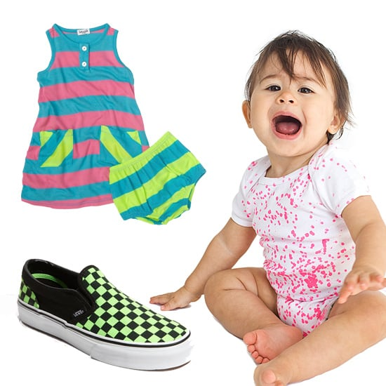 Neon Kids Clothes For Spring