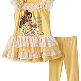 Disney Girls Beauty and the Beast Belle Dress & Leggings Set ($22, originally $36)