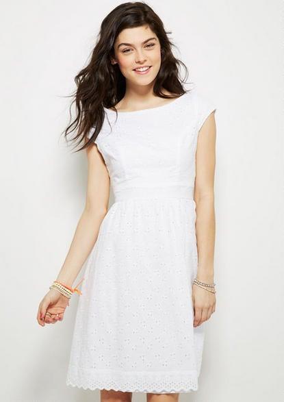Delia's White Dress