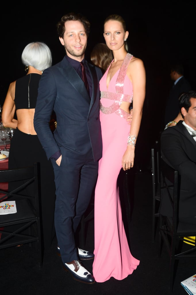 Derek Blasberg and Karolina Kurkova at the amfAR Inspiration Gala in Brazil. Photo: Joe Schildhorn BFAnyc.com