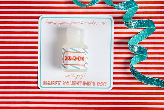 DIY Printable School Valentines Day Cards For Kids – Homemade Valentine Card