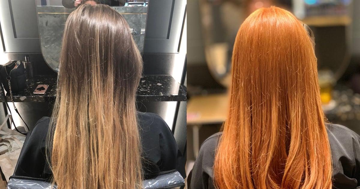 Copper Hair Dye Process  POPSUGAR Beauty Australia