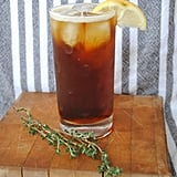 Fernet Buck With Thyme Syrup