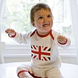 This Union Jack Baby Jumpsuit ($38) is a sweet way to bring a little British heritage to an infant's wardrobe.